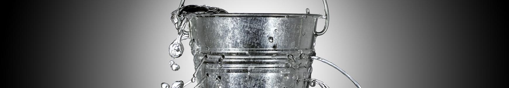 leakey bucket